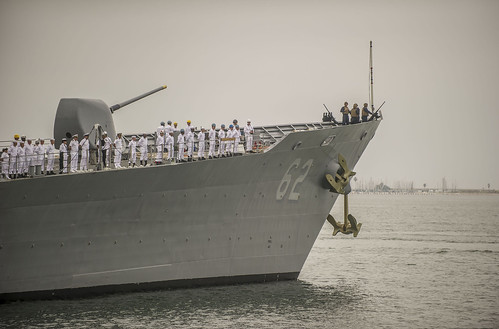 Chancellorsville Departs for Forward Deployment to 7th Fleet