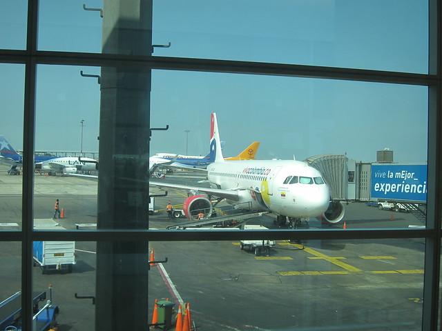 Viva Colombia Flight to Bogotá