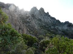 La Punta d'Ortu et ses couloirs de montée