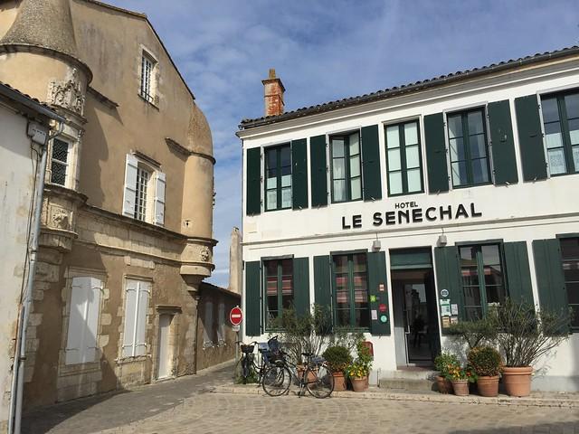 Hotel Le Senechal en Ars-en-Ré (Isla de Ré, Francia)
