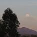 Moonrise over Rancho Bernardo transit center by jenfoolery