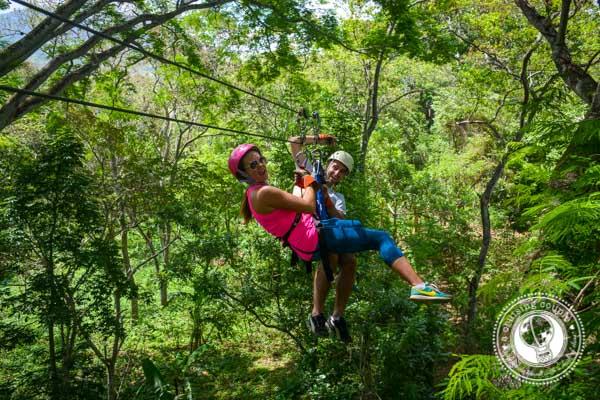Ziplining in Nicaragrua