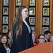 Rebekah D'Amato, Student Body President, Chaparral HS at the 5-12-2016 Board Meeting