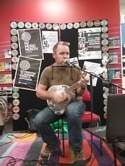 Andy Scott - NZ Music Month performance at Shirley Library