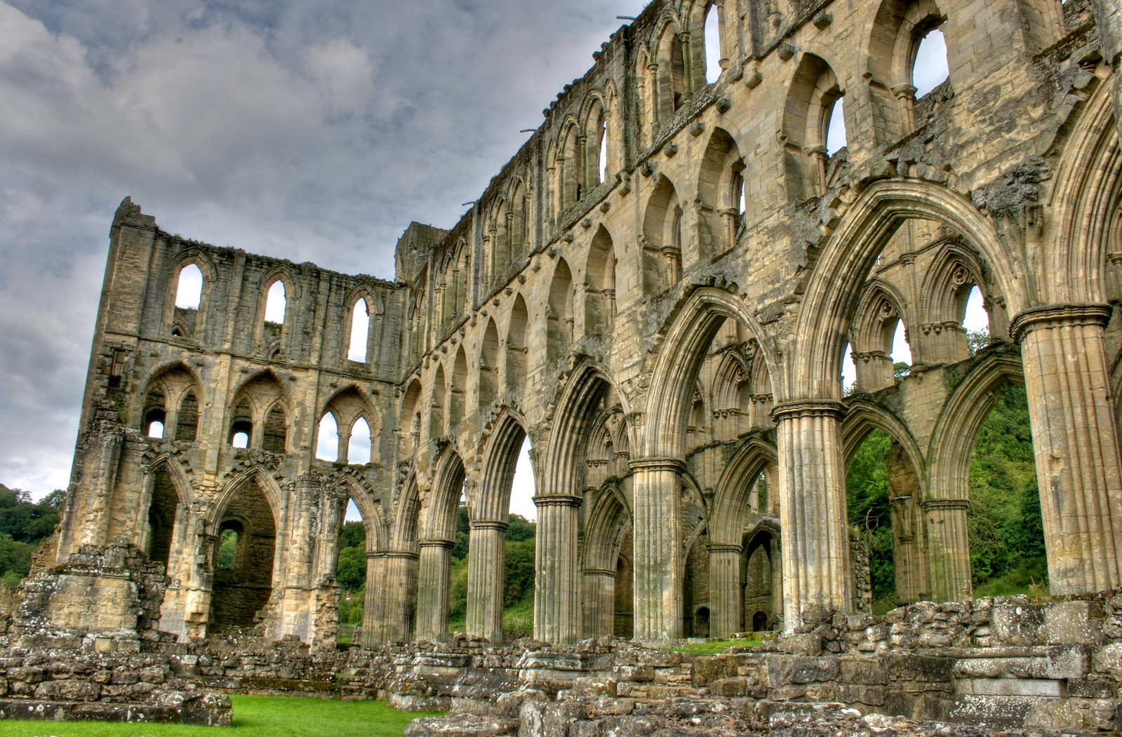 Rievaulx Abbey. Credit Mike Peel