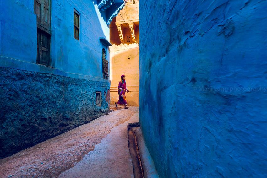 Blue. Jodhpur, India