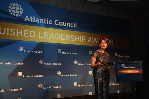 2015 Distinguished Business Leadership Award honoree and Lockheed Martin CEO Marillyn Hewson.