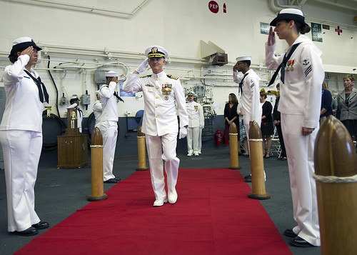 USS America's First Change of Command Emphasizes Ship's Role in 21st Century Seapower