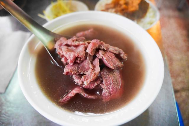 台南 北區–牛肉湯配肉燥飯–開元路新鮮牛肉湯