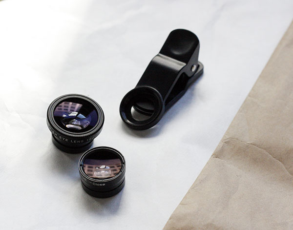 universal clip-on lenses for iphone