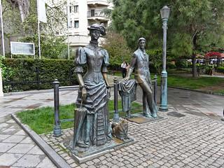 Εικόνα από Дама с собачкой. monument russia crimea