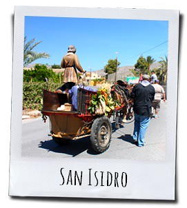 San Isidro, de beschermheilige van de boeren en hun oogst