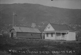 Tow station, NWMP / Station de remorquage, P.C.N.-O.