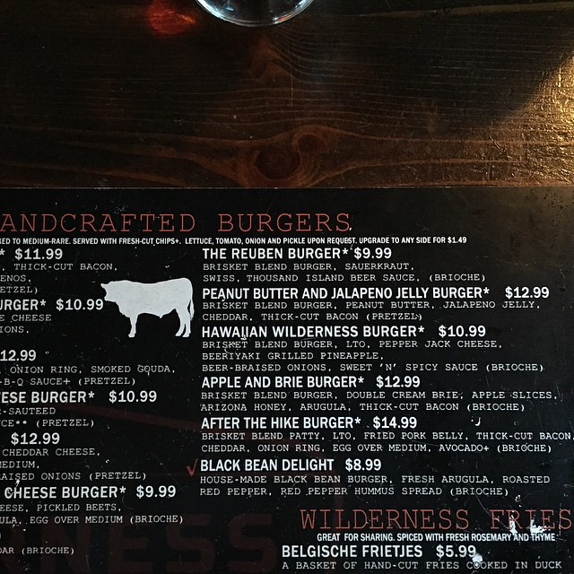 Feeling my inner @justintevya and ordering the PB&J burger by bartle_man