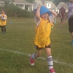 That's not a #hat. #soccer #goof