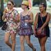 Three girls in Rome