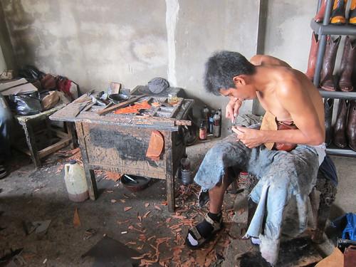 Bootmaker in Camoapa