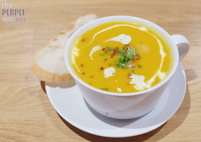 Pumpkin Soup (P150)