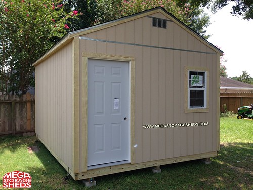 Steel Exterior Door Mega Storage Sheds
