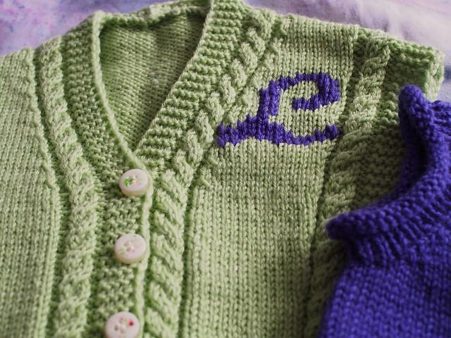 Green L vest