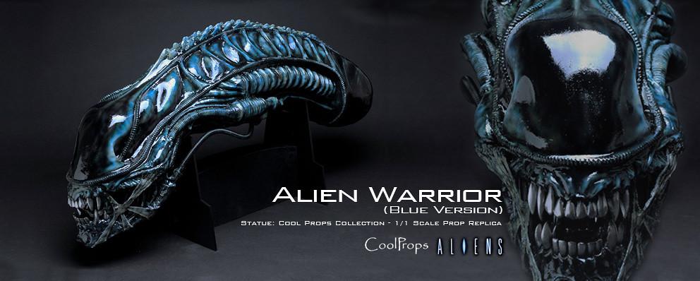 CoolProps【異形戰士】Alien Warrior 1:1 電影道具複製頭像