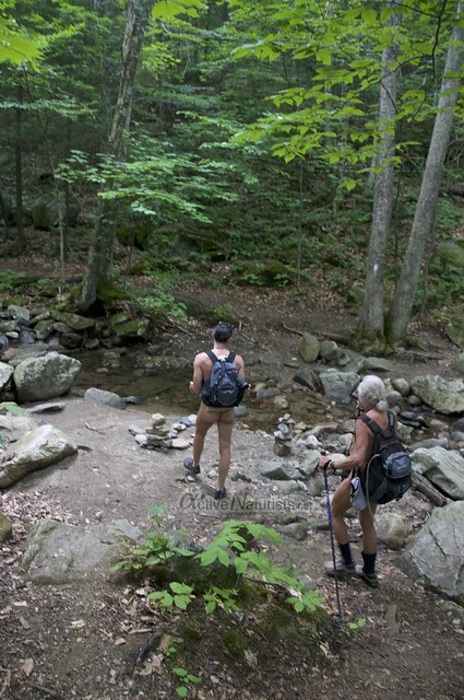 naturist 0003 Appalachian trail, Vermont, USA