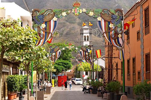 Main street, Tegueste, Tenerife