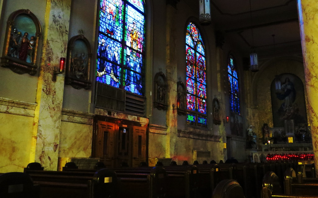 Our Lady of Pompei Church,Greenwich Village, NY