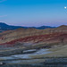 Painted Hills at twilight