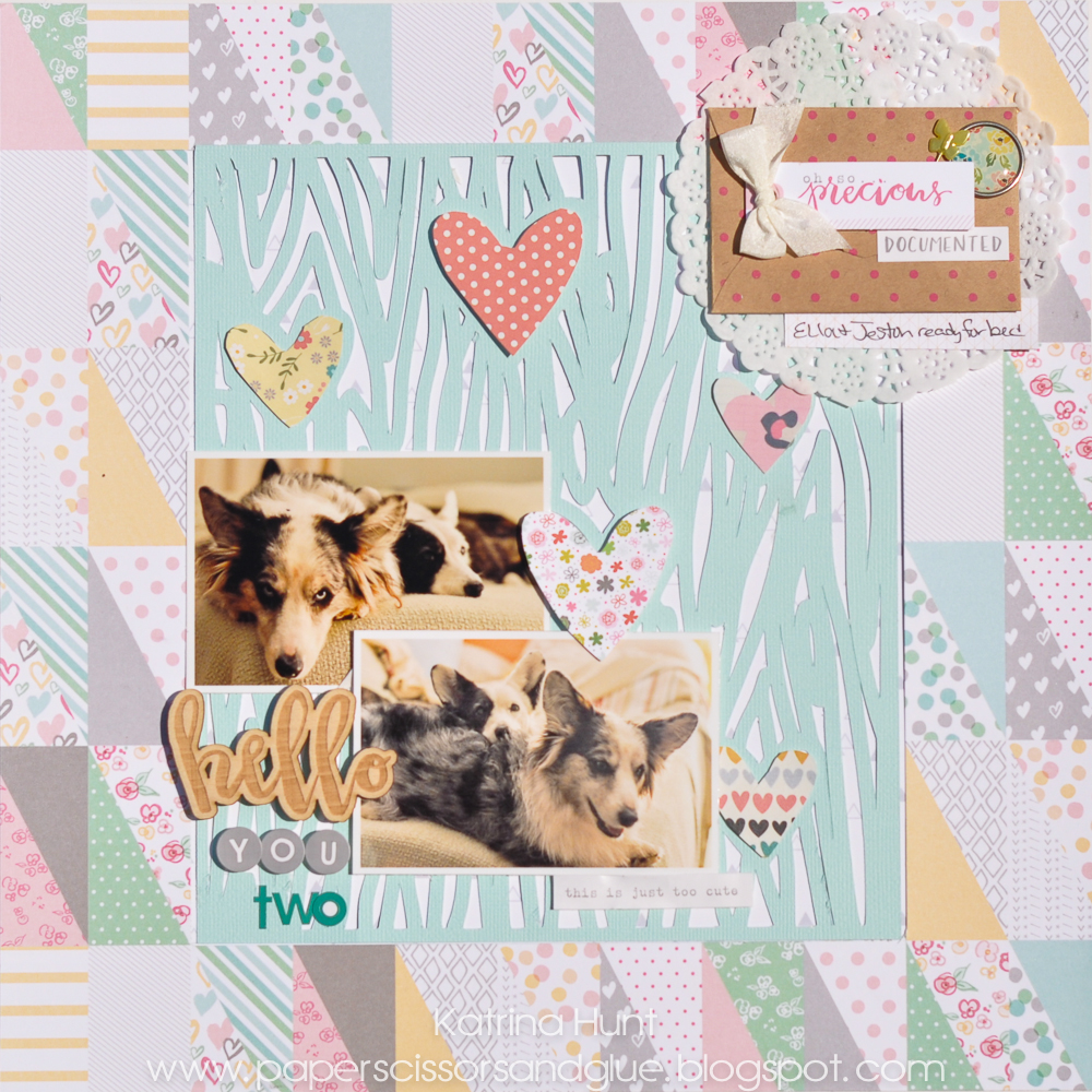 Hello_You_Two_Scrapbook_Layout_Katrina_Hunt_Gossamer_Blue_April_Kit_1000Signed-1