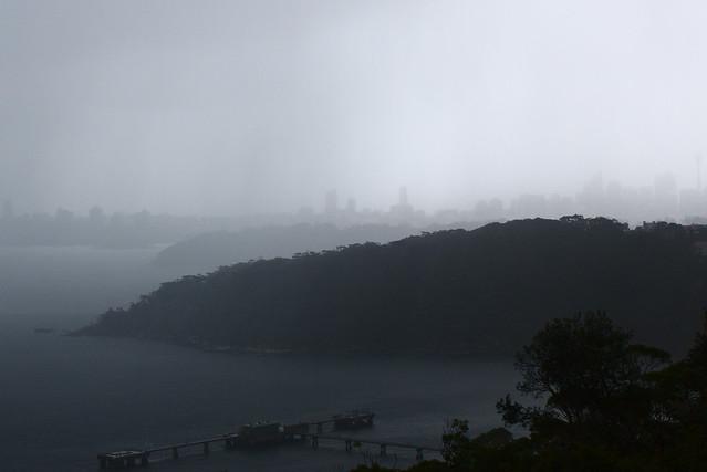 Photo circle: Sydney rain storm