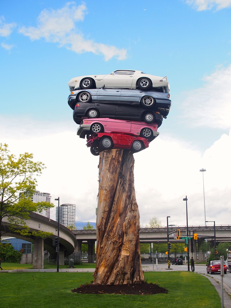 Trans Am Totem | False Creek, Vancouver