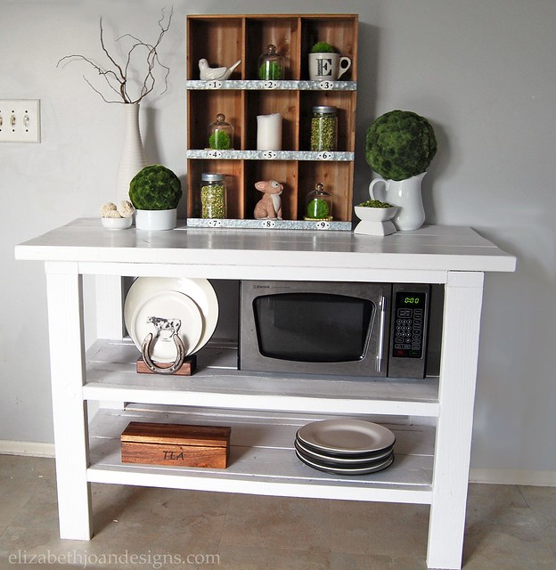 DIY Kitchen Buffet Server