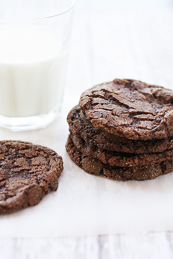 flourless fudgy cookies
