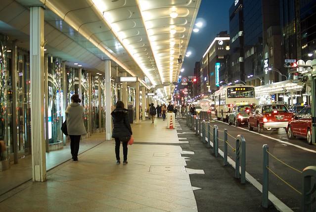 京都・四条通り