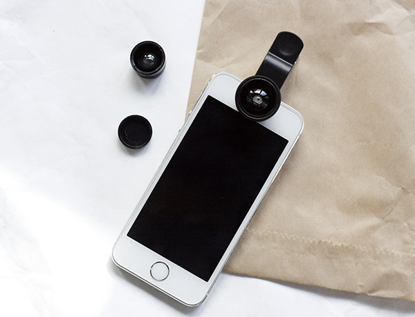 clip-on lenses for iPhone camera