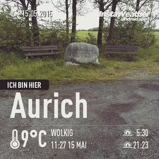 Bestes Wetter für eine #cachetour bei Aurich. #Ostfriesland #Urlaub #geocaching #instaweather #instaweatherpro #weather #wx #android #aurich #deutschland #day #spring #clouds #afternoon #cold #de