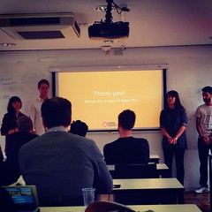 Final #ux client presentations for the London #UXDI students. I'M SO PROUD.