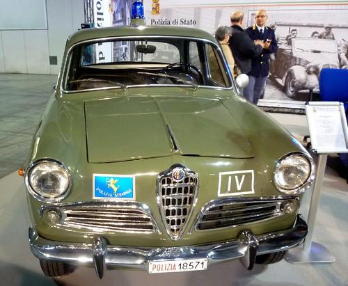 Alfa Giulietta 1300 Ti Polizia