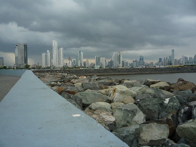 View of Downtown from Old Town Panama