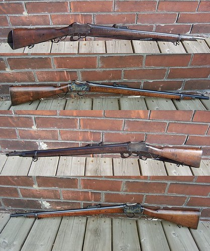 1912 BSA Martini .310 Cadet Target Rifle -- before and after refinishing