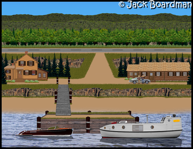 Boomer & the Halvorson homes