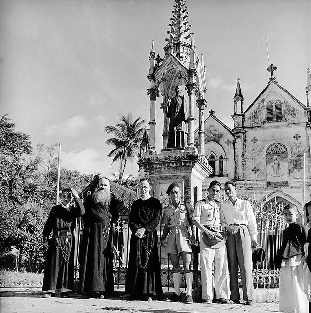 Indochina War In 1953 - Catholic Presence In Vietnam - Sự hiện diện của Công Giáo tại VN - by Jean-Philippe CHARBONNIER - Nhà thờ CÁI MƠN
