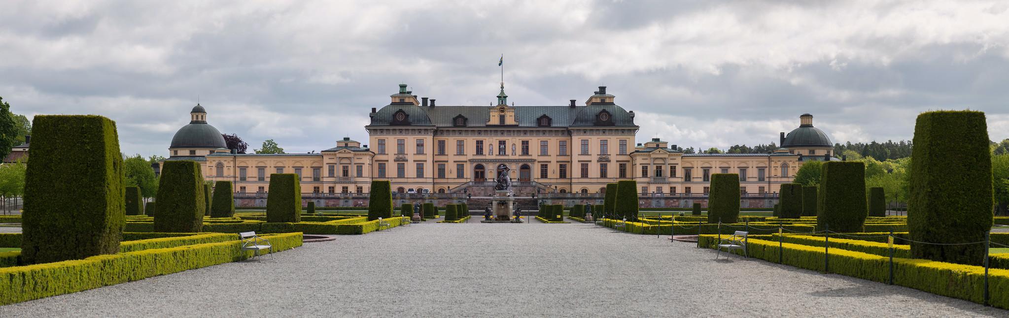 Drottningholm Palace Panorama
