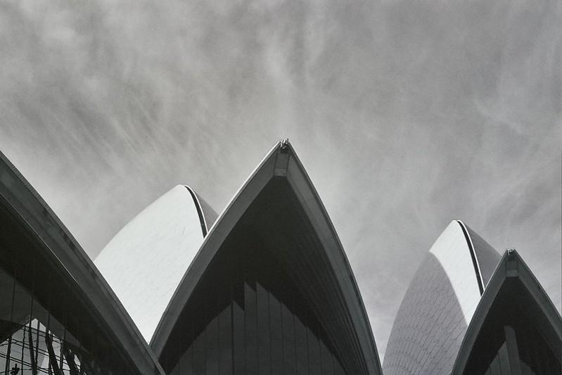 Sydney Opera House B/W // Schorlemädchen