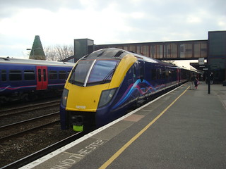 Class 180 number 180108 at Oxford Railway Station