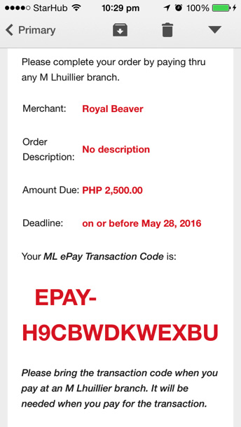 ML ePay - Online Shopping Without Credit Card