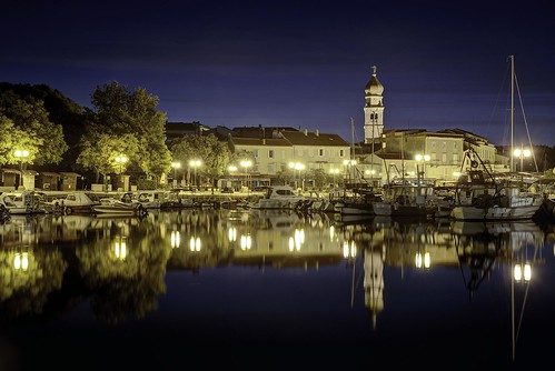 cityscape longexposure sky sunrise croatia krk island nikon nikond750 night nikkor283003556 gazzda hrvojesimich
