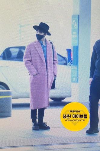 Big Bang - Incheon Airport - 21mar2015 - G-Dragon - avril_gdtop - 01