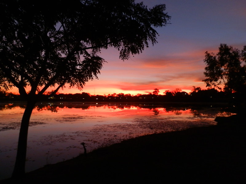 Kununurra Sunset, Lily Creek Lagoon